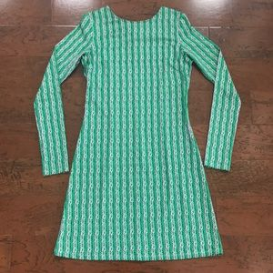 Julie brown long sleeve dress